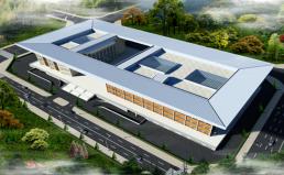 湖北浠水市民之家屋面工程