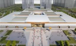 山东菏泽展览中心屋面工程