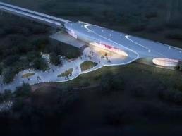 郑州市轨道交道6号线湿地公园站金属屋面系统工程