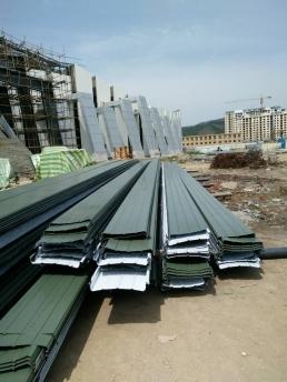 铝镁锰板现场加工