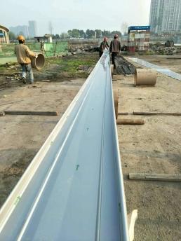 65-(200-580)铝镁锰扇形板现场加工